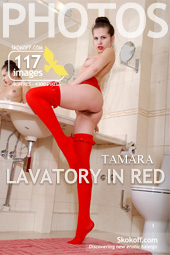 Skokoff gallery - Lavatory In Red - 117 photos - Tamara