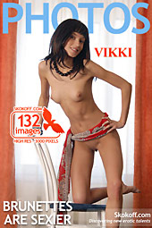 Skokoff gallery - Brunettes Are Sexier - 132 photos - Vikki