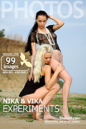 Skokoff.com gallery - Experiments - 99 photos - Nika and Vika