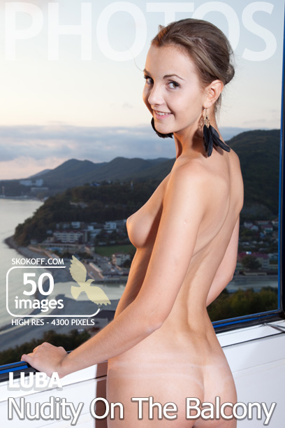 Skokoff.com gallery - Nudity On The Balcony - 50 photos - Luba